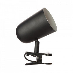 Lampa birou neagra din metal 13 cm Ayr Clamp Brilliant