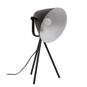 Lampa birou neagra din metal 60 cm Sonella Somcasa