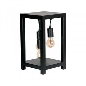 Lampa birou neagra din metal cu 3 becuri 41 cm Dangle LABEL51