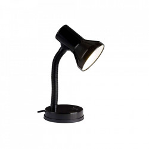 Lampa birou neagra din plastic si metal 30 cm Junior Brilliant