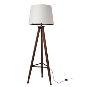 Lampadar din lemn si bumbac 154 cm Rif Dutchbone