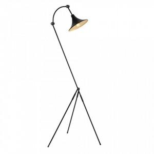 Lampadar din metal negru 26x163 cm Miller Custom Form