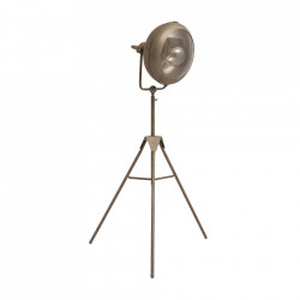 Lampadar gri din fier 136 cm Anne Vical Home
