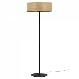 Lampadar maro stejar din lemn si otel 129 cm Tsuri Sotto Luce