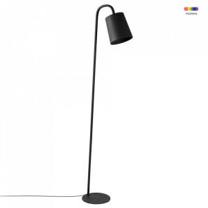 Lampadar negru din fier 166 cm Leo Zago