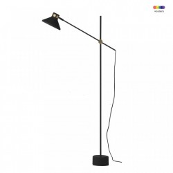 Lampadar negru din metal 140 cm MR Frandsen Lighting