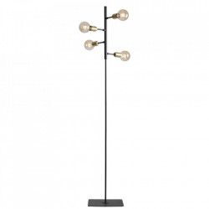 Lampadar negru din metal cu 4 becuri 168 cm Bolzano Aldex