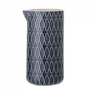 Latiera albastra din ceramica 250 ml Naomi Bloomingville