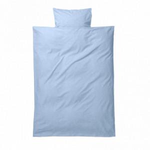 Lenjerie de pat bumbac junior albastru 100x140 cm Light Blue Ferm Living