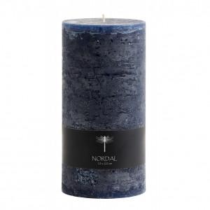 Lumanare albastra din parafina 20 cm Danny Nordal