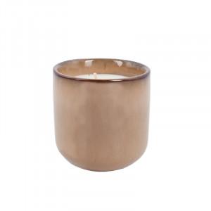 Lumanare parfumata cu suport din ceramica 9 cm Amberwood Jasmin Lifestyle Home Collection