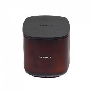 Lumanare parfumata cu suport maro din sticla 13 cm 11PM Serax