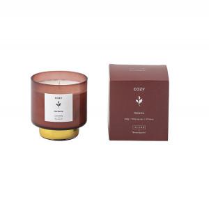 Lumanare parfumata din sticla 9 cm Cozy Nectarine Illume x Bloomingville