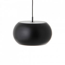 Lustra neagra din metal BF 20 Large Frandsen Lighting