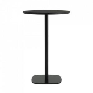 Masa bar neagra din otel 70 cm Form Normann Copenhagen