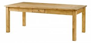 Masa dining din lemn de pin 100x200 cm Repas Zago