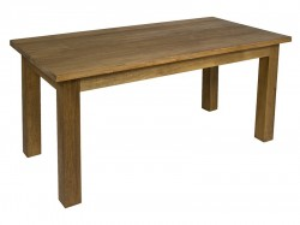 Masa dining din lemn tec 180x90 cm Feng Santiago Pons