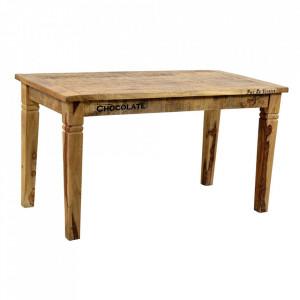 Masa dining maro din lemn de mango 70x140 cm Rustic Sit Moebel