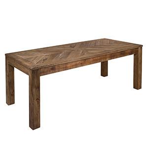 Masa dining maro din lemn de pin 90x200 cm Bunta Santiago Pons