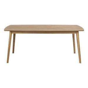 Masa dining maro din MDF si lemn 90x180 cm Nagano Actona Company