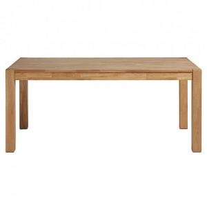Masa extensibila maro din lemn 90x140(220) cm Indra La Forma
