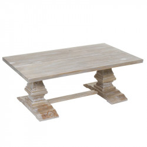 Masa maro din lemn si MDF pentru cafea 70x120 cm Long Santiago Pons