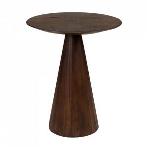 Masuta de cafea maro din lemn de mindi 50 cm Congo Versmissen