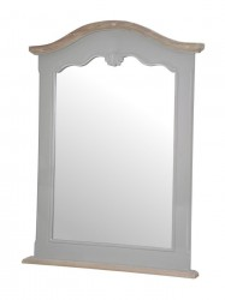 Oglinda din lemn de plop si MDF 60x81 cm Catania Livin Hill