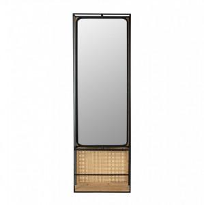 Oglinda dreptunghiulara din metal 165 cm Langres L Dutchbone