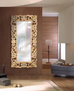 Oglinda dreptunghiulara din polirasina si sticla 90x178 cm Folia Giner y Colomer
