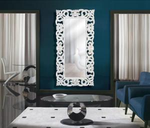 Oglinda dreptunghiulara din polirasina si sticla 90x178 cm Leia Giner y Colomer