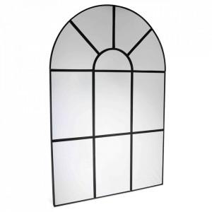 Oglinda neagra din metal 40x60 cm Timeless Opjet Paris