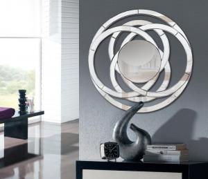 Oglinda rotunda din sticla 120 cm Hava Giner y Colomer