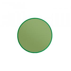 Oglinda rotunda verde din metal 30 cm You're So Ugly S Bold Monkey