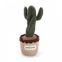 Opritor usa multicolor din textil Cactus Welcome Versa Home
