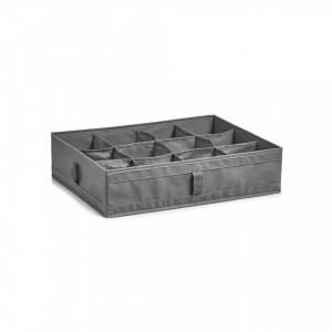 Organizator gri din fleece Storage Box Foldable Twelve Zeller