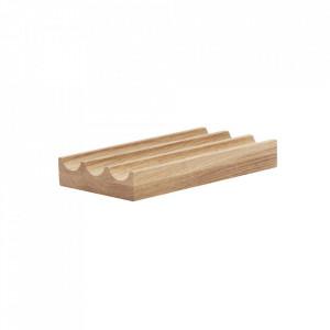 Organizator maro din lemn pentru birou Bindo Hubsch