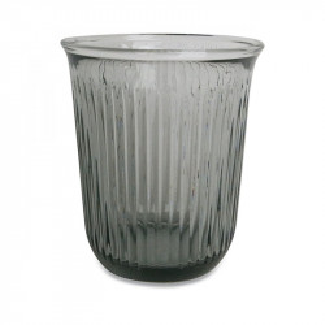 Pahar gri din sticla 8,5x10 cm Jules Opjet Paris