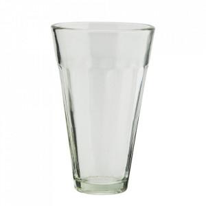 Pahar transparent din sticla 7x11 cm Aqua Madam Stoltz
