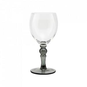 Pahar transparent din sticla pentru vin 7,5x18 cm Meyer House Doctor