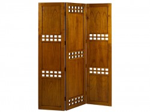 Paravan din lemn mindi si placaj 135x180 cm Square Santiago Pons