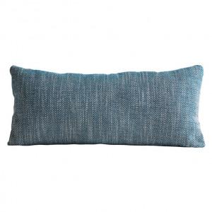 Perna decorativa dreptunghiulara albastra din textil 29x62 cm Herringbone Woud
