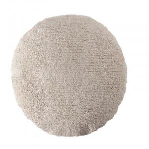 Perna rotunda bej din bumbac pentru podea 50 cm Big Dot Beige Lorena Canals