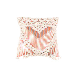 Perna roz din bumbac 40x40 cm Saar Ivory Pink Zuiver
