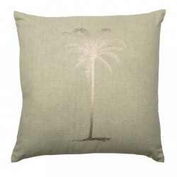Perna verde din bumbac 45x45 cm Palm Bloomingville