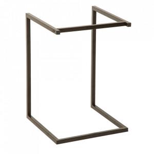Picior pentru masa negru din metal Ciano Invicta Interior