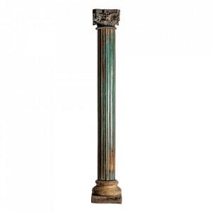 Piedestal multicolor din lemn de tec 263 cm Terry Vical Home