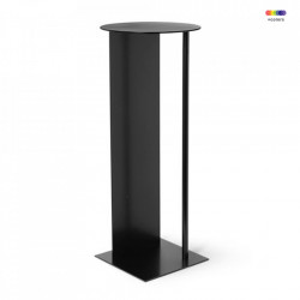 Piedestal negru din metal 75 cm Place Ferm Living