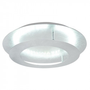 Plafoniera gri argintiu din otel si metal cu LED Merle Small Candellux