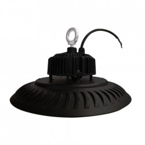 Plafoniera neagra din aluminiu Eka Milagro Lighting